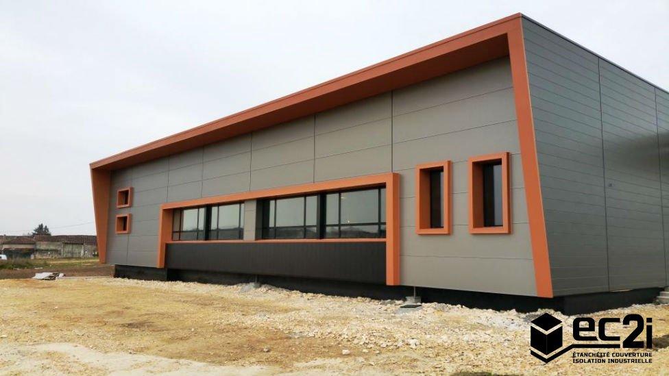 Bardage b timents industriels commerciaux ec2i for Parement aluminium exterieur